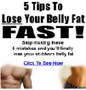 5 Tips To Loose Stomach Fat